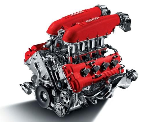 Ferrari F154 moteur